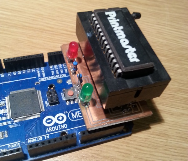 DIY EEPROM programmer | The Oddbloke Geek Blog