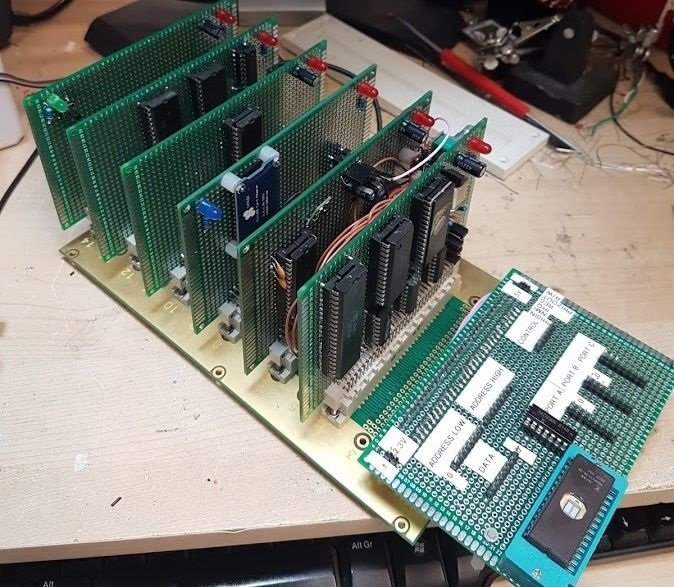 My6502 (part one)   The Oddbloke Geek Blog
