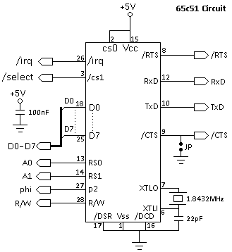 SerialPortSchematic