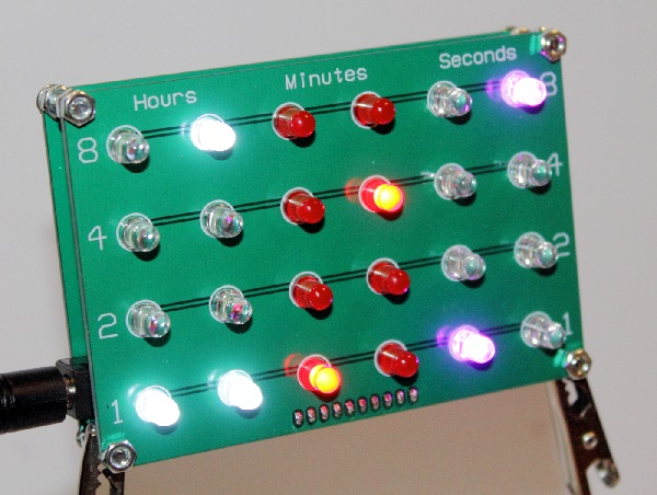 GPS-Controlled Binary Clock | The Oddbloke Geek Blog